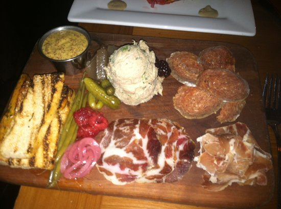 Parlor Market: A wonderful cured meat plate