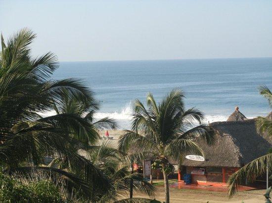 "Hotel Arco Iris: View of Zicatela Beach, ""The Mexican Pipeline"""