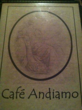 Cafe Andiamo: Menu