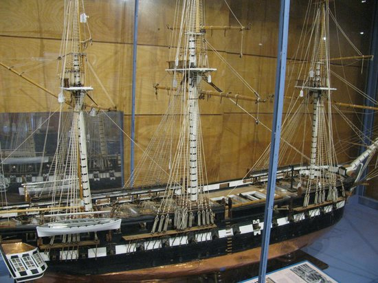 USS Constitution Museum: An amazing model of the ship