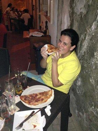 Di Silvio Trattoria: rica pizza