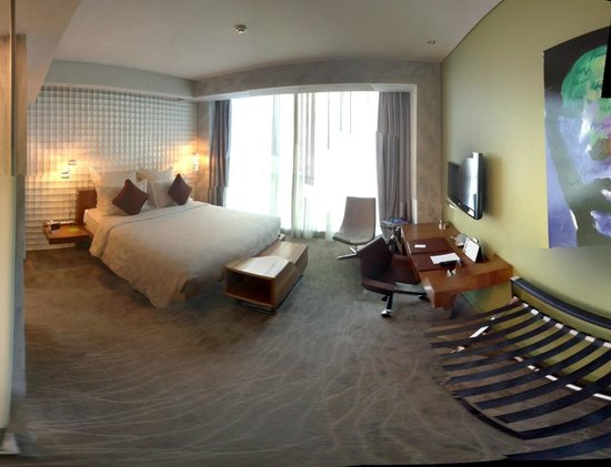 Pullman Jakarta Central Park: Panorama of room
