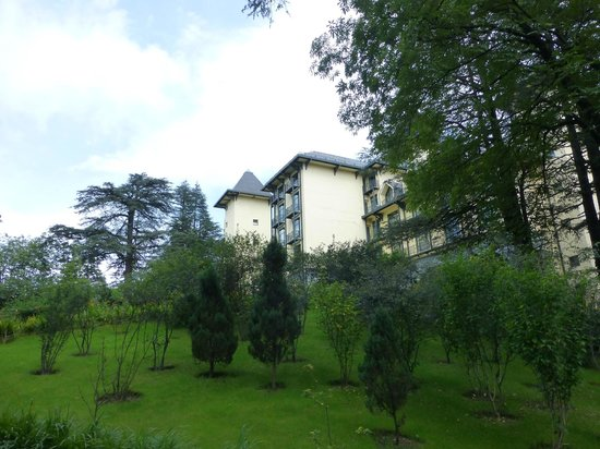 Wildflower Hall, Shimla in the Himalayas: exterior