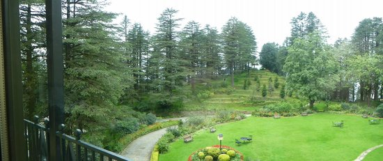 Wildflower Hall, Shimla in the Himalayas: extensive grounds