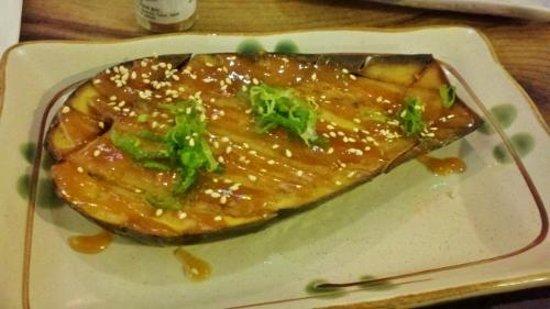 Izakaya Mai: Grilled eggplant in miso