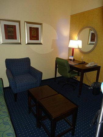 SpringHill Suites Savannah Airport: Sitting area