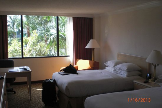 Hilton Palm Beach Airport: Hilton West Palm Beach Airport Room