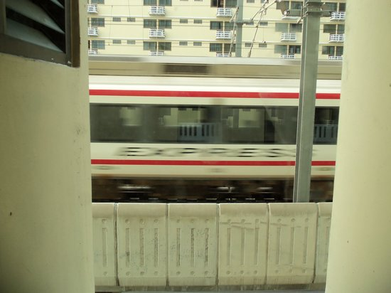 Nasa Vegas Hotel: Room with a view (and train)