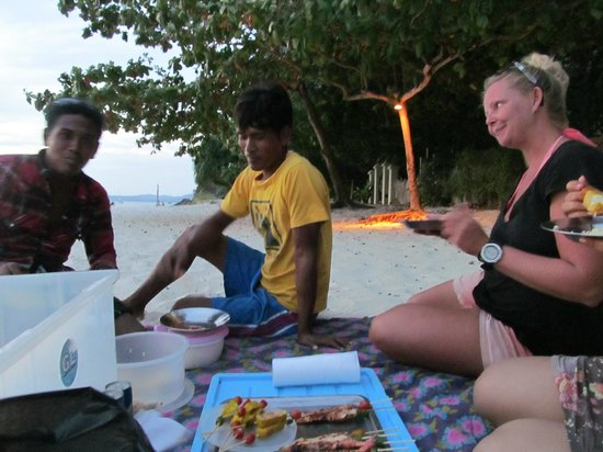 Andaman Camp and Day Cruise: Sunset Barbeque