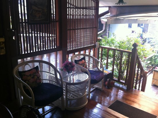 Baan Chantra: Chill out area