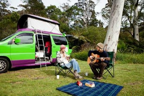 Blackheath Glen Tourist Park: Unpowered Camping