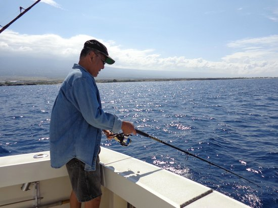 Bottom fishing for smaller fish picture of kona family for Kona fishing charters