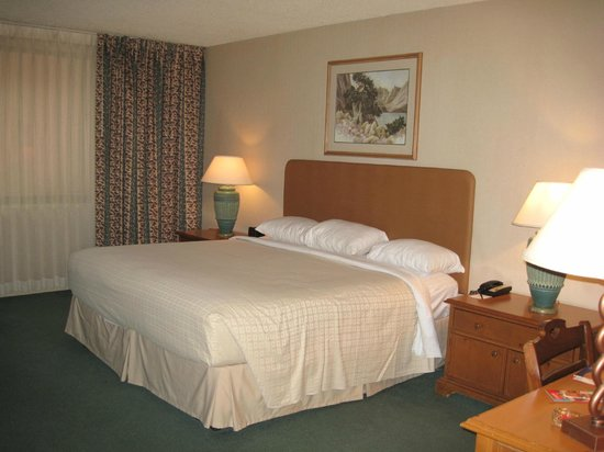 Grand Sierra Resort and Casino: King bed (standard room)