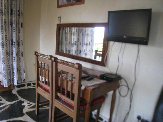 Sophia Baharini Apartment : Inside of 1bedroom with balcony