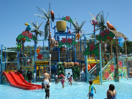 Port Edward, Sydafrika: kids zone