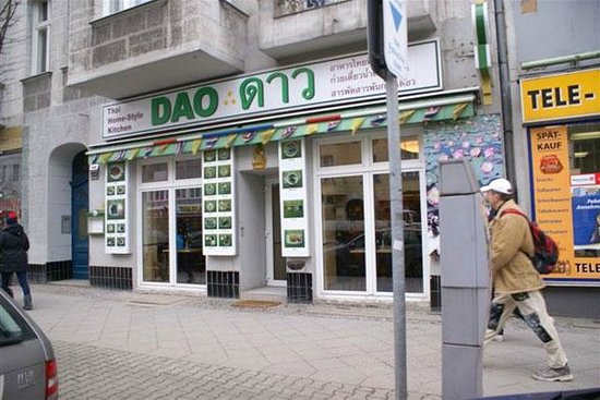 Thai-Restaurant DAO by Meo: Dao Thai entrance Kantstrasse 133 10625 Berlin