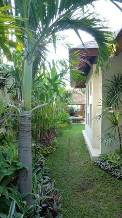 Villa Bali Asri Batubelig: le jardin