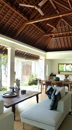 Villa Bali Asri Batubelig: une belle charpente