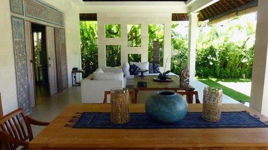 Villa Bali Asri Batubelig: le salon