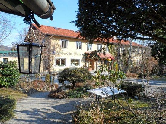 Häuserl im Wald : Ansicht des Hauptgebäudes