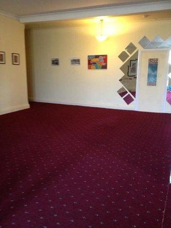 The Railway Motel & Inn: hotel foyer upstairs