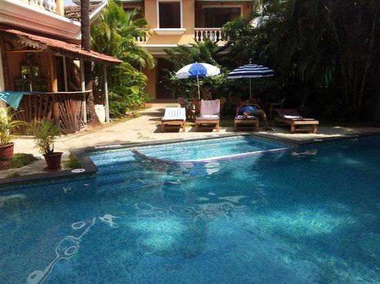 Sandray Resort: The pool area