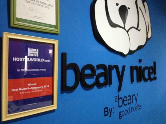 Beary Nice! by a beary good hostel: Winner - Best Hostel in Singapore 2013