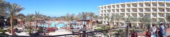 Hawaii Riviera Aqua Park Resort : вид сверху