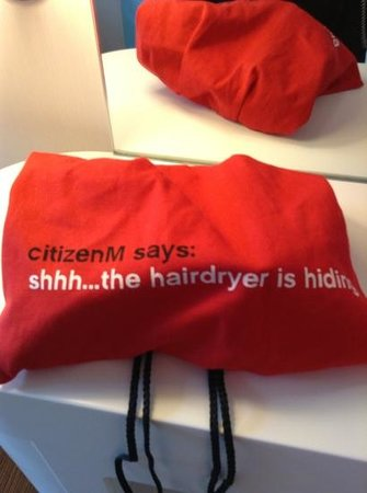 citizenM Glasgow: the quirkiness!
