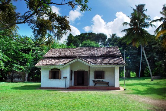 Galle, Sri Lanka: The house in which Martin Wickramasinghe was born