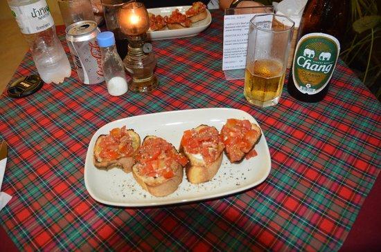 La Dolce Vita Restaurant: Bruchetta
