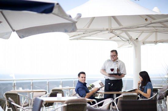 Grazia Fine Food & Wine: Beautiful views