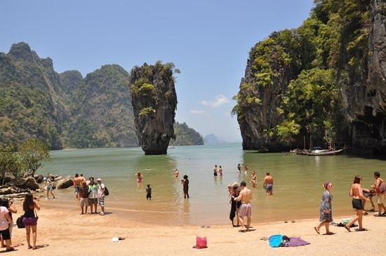 Ao Phang Nga National Park, Tailandia: james bond island