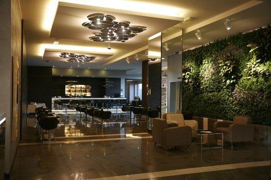 Klima Hotel Milano Fiere: Bellissima la parete interna!!(giardino vero)