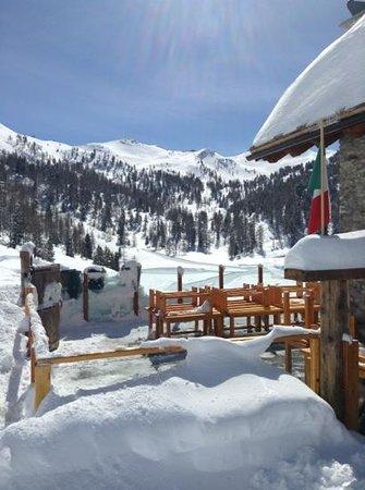 Chalet Col Saurel: inverno 2012-2013