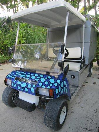 Anantara Kihavah Maldives Villas: Arty Buggy