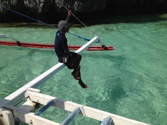 El Nido Resorts Lagen Island: lagoon in Miniloc