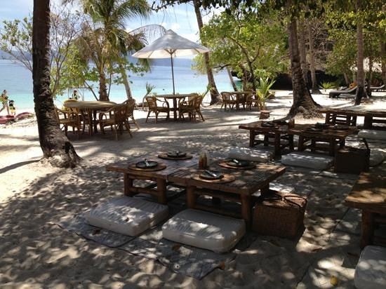 El Nido Resorts Lagen Island: Entalula: lunch area