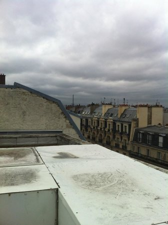 Citadines Montmartre Paris: view from the roof terrace
