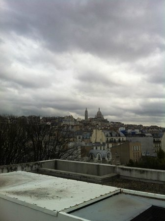 Citadines Montmartre Paris: view from the rooftop