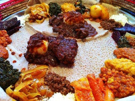 Äthiopisches Essen - Bild von Roha Cafe and Restaurant, Bonn - TripAdvisor