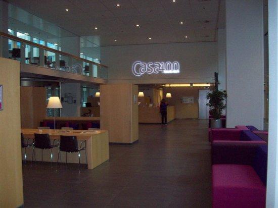 Hotel Casa 400: De mooie lobby