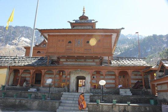Sarahan, Inde : Temple view