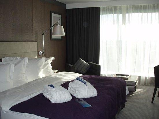 Radisson Blu Hotel, Manchester Airport: Beautifully refurbished rooms