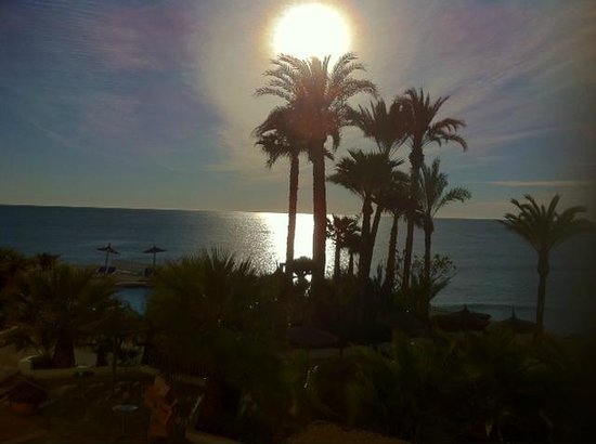 Servigroup La Zenia: View from room early morning March 2013