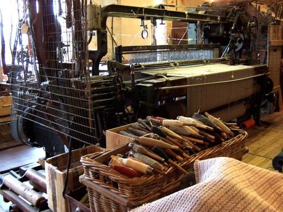 The Trowbridge Museum and Art gallery: Dob Cross Loom
