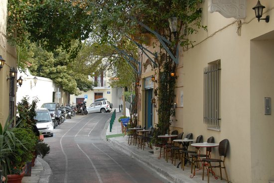 Central Athens Hotel: Plaka district