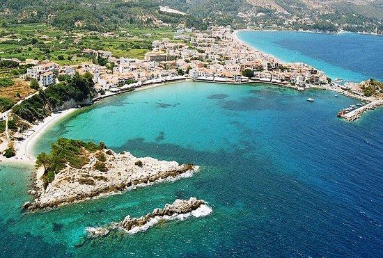 Poseidon Hotel Kokkari Samos Greece: Poseidon Kokkari Samos View
