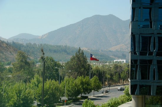 Holiday Inn Express Santiago Las Condes: View from our room.