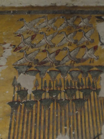 Tomb of Ay : Wonderful paintings